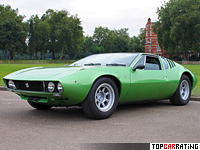 1967 De Tomaso Mangusta = 249 kph, 306 bhp, 4.9 sec.
