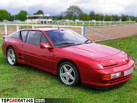 1991 Renault Alpine A610 = 266 kph, 250 bhp, 5.7 sec.