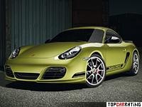 2011 Porsche Cayman R = 282 kph, 330 bhp, 4.9 sec.