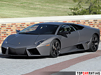 2007 Lamborghini Reventon = 358 kph, 650 bhp, 3.4 sec.