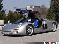 1993 Isdera Commendatore 112i = 342 kph, 408 bhp, 4.7 sec.