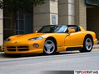 1992 Dodge Viper RT/10 = 260 kph, 406 bhp, 4.7 sec.