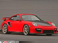 2010 Porsche 911 GT2 RS Wimmer RS = 356 kph, 703 bhp, 3.3 sec.