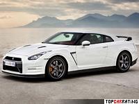 2011 Nissan GT-R Egoist = 310 kph, 530 bhp, 3.2 sec.