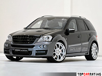 2009 Brabus ML 63 Biturbo Mercedes-Benz ML 63 AMG (W164)  = 310 kph, 650 bhp, 4.2 sec.