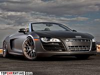 2010 Audi R8 Spyder STaSIS Engineering = 320 kph, 710 bhp, 3.1 sec.