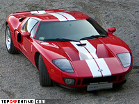 Ford GT Edo Competition 5.4 liter V8  supercharger RWD 2007