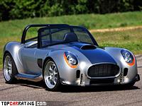 2010 AC Roadster Iconic = 320 kph, 825 bhp, 3 sec.