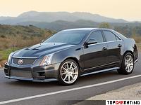 2010 Cadillac CTS-V Hennessey V800 = 337 kph, 800 bhp, 3.1 sec.