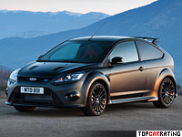 2011 Ford Focus RS500 = 265 kph, 350 bhp, 5.6 sec.