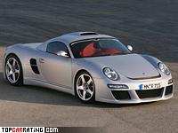 2007 RUF CTR 3 Porsche = 375 kph, 700 bhp, 3.2 sec.