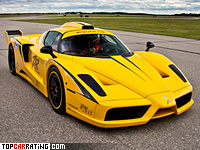 2010 Ferrari Enzo XX Evolution Edo Competition = 390 kph, 840 bhp, 3.2 sec.