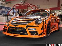 2010 9ff 911 GTurbo 1200 (Porsche 911 GT2) = 414 kph, 1200 bhp, 2.8 sec.
