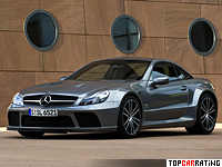 2008 Mercedes-Benz SL 65 AMG Black Series = 320 kph, 670 bhp, 3.8 sec.
