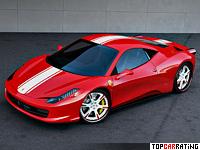 2011 Ferrari 458 Italia Wheelsandmore Stage 2 = 332 kph, 621 bhp, 3.3 sec.