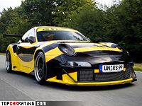 2005 Porsche 911 GT2 RS Maya the Bee Edo Competition = 335 kph, 670 bhp, 3.2 sec.