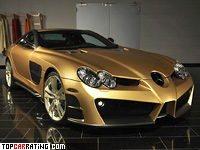 2008 Mercedes-Benz SLR McLaren Mansory Renovatio = 340 kph, 690 bhp, 3 sec.