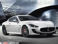 2011 Maserati GranTurismo MC Stradale = 301 kph, 450 bhp, 4.6 sec.
