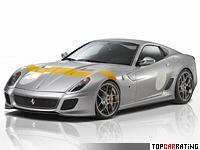 2011 Ferrari  599 GTO Novitec Rosso = 340 kph, 888 bhp, 3.2 sec.