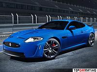 2011 Jaguar XKR-S = 300 kph, 550 bhp, 4.2 sec.
