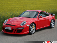 2009 Porsche RUF Rt 12 S (RWD) = 352 kph, 685 bhp, 3.4 sec.