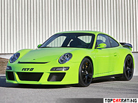 2011 Porsche RUF RGT-8 = 320 kph, 550 bhp, 3.8 sec.