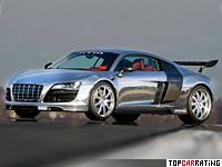 2011 Audi R8 V10 MTM Biturbo = 350 kph, 777 bhp, 3 sec.