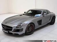 2011 Brabus 700 Biturbo (Mercedes-Benz SLS AMG) = 340 kph, 700 bhp, 3.7 sec.