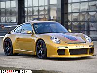2011 Porsche RUF Rt 12 R = 350 kph, 730 bhp, 3.4 sec.