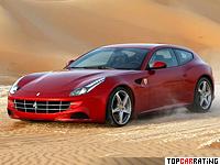 2011 Ferrari FF = 335 kph, 660 bhp, 3.7 sec.