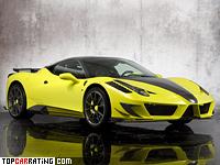 2011 Ferrari 458 Italia Mansory Siracusa = 330 kph, 590 bhp, 3.2 sec.