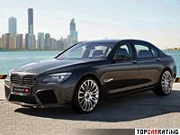 2011 BMW 760li Mansory = 250 kph, 640 bhp, 4.2 sec.