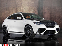 2011 BMW X6 M Mansory = 300 kph, 670 bhp, 4.2 sec.