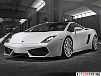 2008 Lamborghini Gallardo LP560-4 = 325 kph, 560 bhp, 3.7 sec.