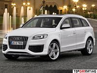 2008 Audi Q7 V12 TDI quattro = 250 kph, 500 bhp, 5.5 sec.