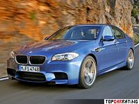 2012 BMW M5 (F10-F11) = 305 kph, 560 bhp, 4.4 sec.