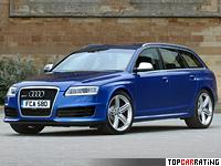 2008 Audi RS6 Avant = 250 kph, 580 bhp, 4.5 sec.