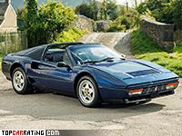 1986 Ferrari GTS Turbo = 252 kph, 254 bhp, 6.5 sec.
