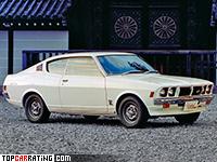 1973 Mitsubishi Galant GTO 2000 GS-R = 180 kph, 115 bhp, 9.7 sec.