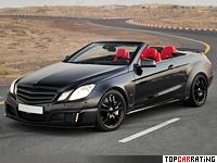 2011 Brabus E V12 Cabriolet = 370 kph, 800 bhp, 3.7 sec.