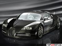 2009 Bugatti Veyron Mansory Linea Vincero = 407 kph, 1109 bhp, 2.5 sec.