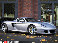 2007 Porsche Carrera GT Edo Competition = 365 kph, 770 bhp, 3.5 sec.