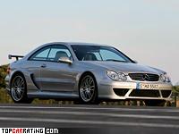 2004 Mercedes-Benz CLK 55 AMG DTM Street Version = 320 kph, 582 bhp, 3.9 sec.