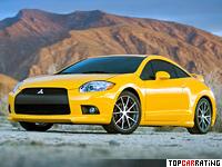 2008 Mitsubishi Eclipse GT V6 (4G) = 240 kph, 265 bhp, 6.1 sec.