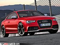 2012 Audi RS5 Coupe = 280 kph, 450 bhp, 4.6 sec.