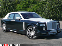 2007 Rolls-Royce Phantom Mansory Conquistador = 270 kph, 498 bhp, 5.6 sec.