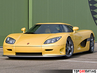 2004 Koenigsegg CCR = 388 kph, 817 bhp, 3.2 sec.