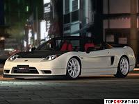 2002 Honda NSX-R = 270 kph, 280 bhp, 5 sec.