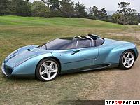 1996 Lamborghini Raptor Concept Zagato = 330 kph, 492 bhp, 3.9 sec.