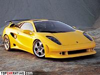 1995 Lamborghini Cala Concept = 300 kph, 400 bhp, 5 sec.
